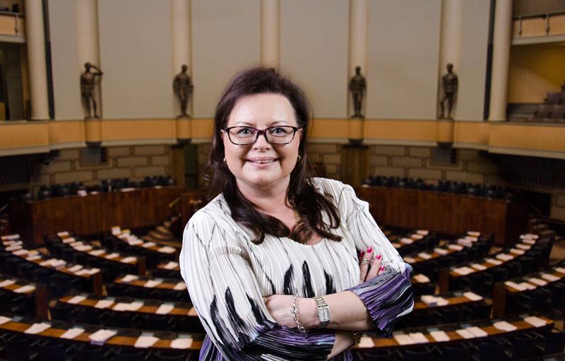 Anne Louhelainen, kansanedustaja perussuomalaiset