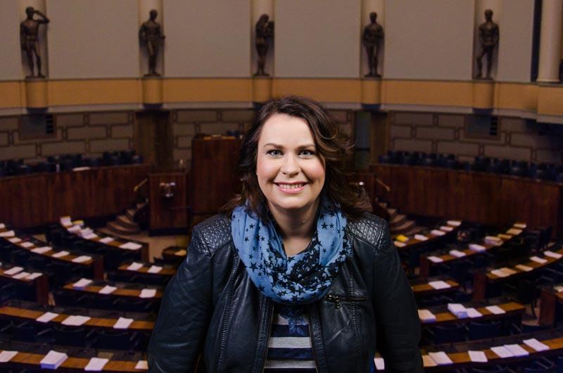 Johanna Ojala-Niemelä, kansanedustaja SDP