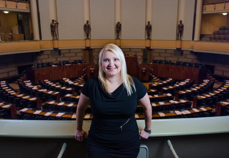 Suna Kymäläinen, kansanedustaja SDP